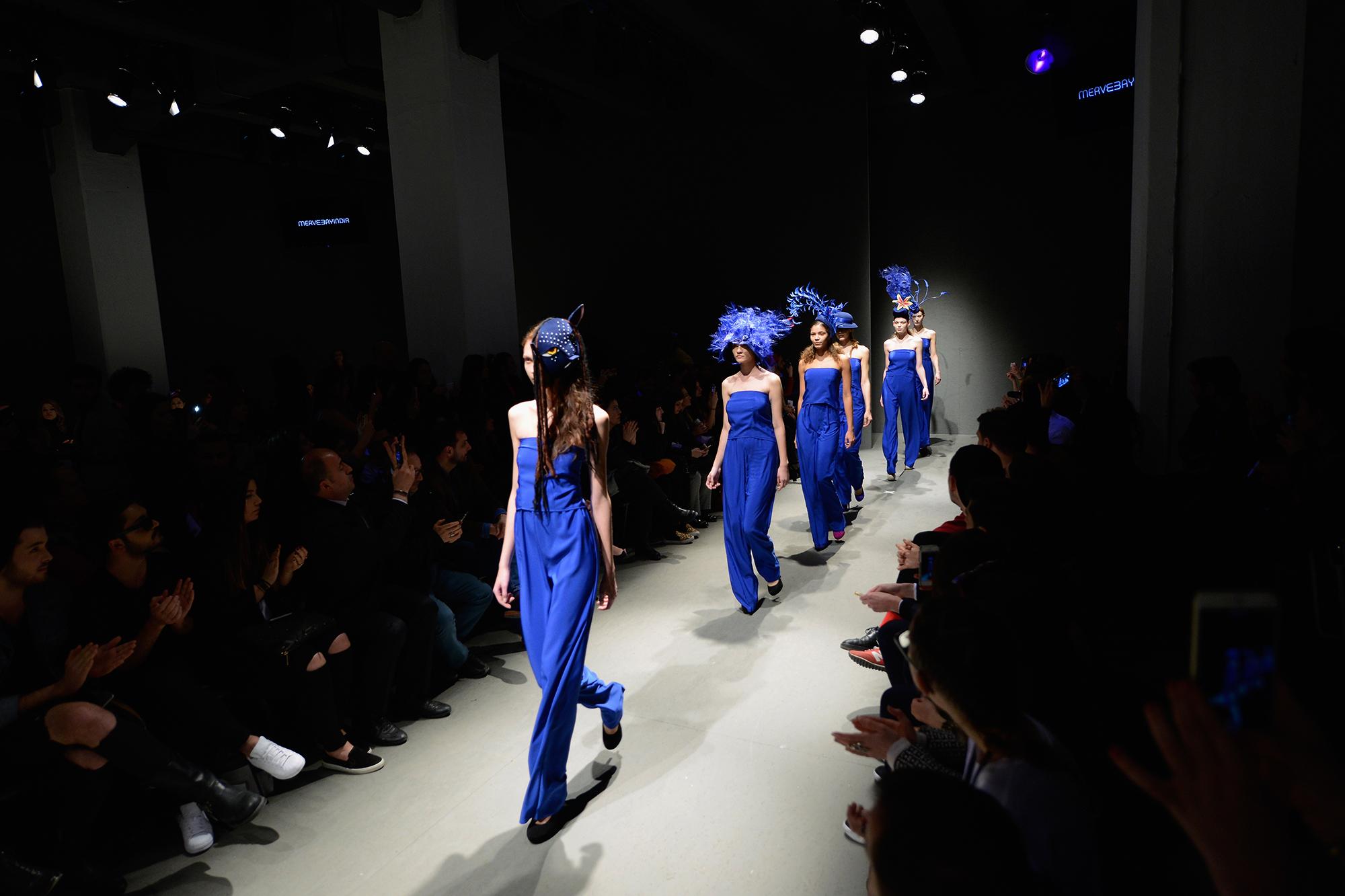 Merve Bayindir - Runway - Mercedes Benz Fashion Week Istanbul Fall/Winter 2015