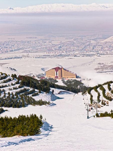 Marie Claire Türkiye Kayak Sezonu Renaissance Polat Erzurumda