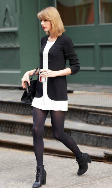 siyah külotlu çorap nasıl giyilir  (10)